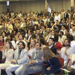 Pubblico in Aula Magna
